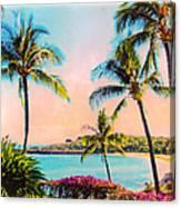 Azure Blue Canvas Print