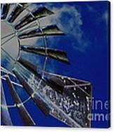 Azure Sky  Canvas Print