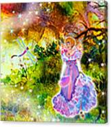 Azuria In Her Banquet Gown Canvas Print