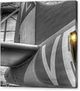 B-17 Bomber Tail Canvas Print