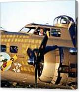B-17 Nine O Nine Canvas Print