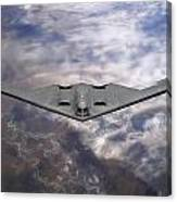 B-2 Stealth Bomber Canvas Print