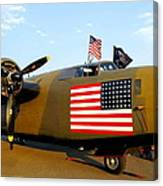 B-24 Bomber - Diamond Lil Canvas Print