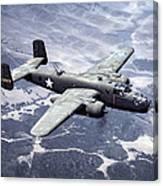 B-25 World War II Era Bomber - 1942 Canvas Print