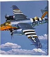 B-26b Marauder Canvas Print