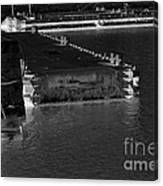 B And W Port  Canvas Print