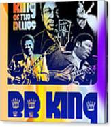 B. B. King Poster Art Canvas Print