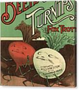 B Feldman & Co  1920s Uk  Cc Canvas Print