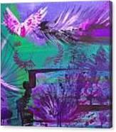 B Two Canvas Print