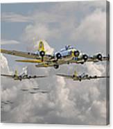 B17 486th Bomb Group Canvas Print