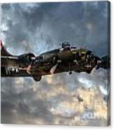 B17 Tribute Canvas Print
