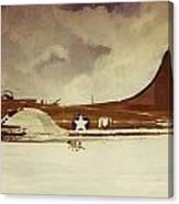 B29 Bomber Canvas Print
