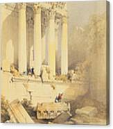 Baalbec Canvas Print