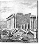 Baalbek Aka Heliopolis, 1845 Canvas Print