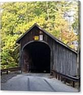 Babbs Covered Bridge Canvas Print