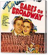 Babes On Broadway, Us Poster Art Canvas Print