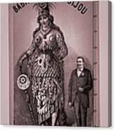 Babil And Bijou - Giant Amazon Queen Canvas Print