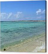 Baby Beach Aruba Canvas Print