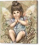 Baby Berry Fairy Canvas Print