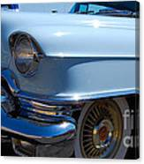 Baby Blue Caddy Canvas Print