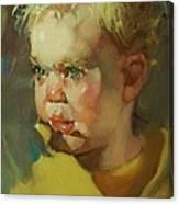 Baby Blue Eyes Canvas Print