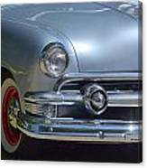 Baby Blue Ford Canvas Print