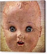 Baby Doll Face Canvas Print