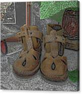 Baby Shoes Canvas Print