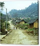 Bac Ha Town Canvas Print