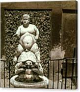Bacchus Fountain Canvas Print