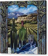 Bacchus Vineyard Canvas Print