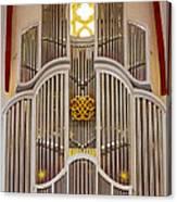 Bach Organ Leipzig Canvas Print