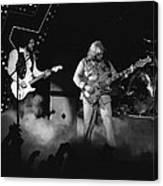 Bachman-turner Overdrive Smokin In Spokane 1976 Canvas Print