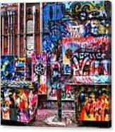 Back Alley Canvas Canvas Print