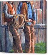 Back At The Ranch Canvas Print