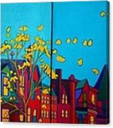 Back Bay Boston Canvas Print