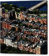Back Bay Canvas Print