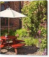 Back Garden  Canvas Print