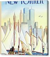 Back In The New World Canvas Print