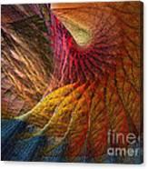 Back On Earth Abstract Art Print Canvas Print