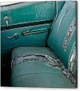 Back Seat Blues  Canvas Print