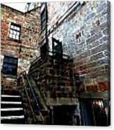 Back Stairs Cool Canvas Print