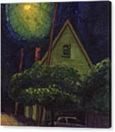Back Street Canvas Print