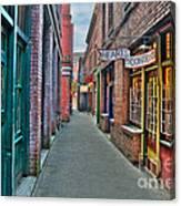 Back Street Love Canvas Print