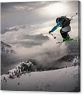 Backcountry Skiing Canvas Print