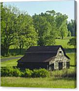 Backroads Barn Canvas Print
