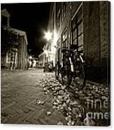 Backstreet Of Amersfoort  Canvas Print