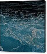 Backwash Canvas Print