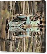 Backwater Byway Canvas Print