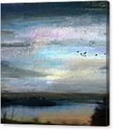 Backwater Overflight Canvas Print